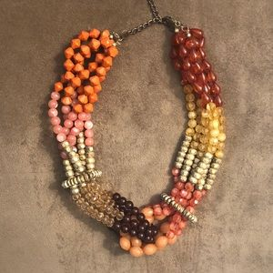 Anthropologie Beaded Necklace